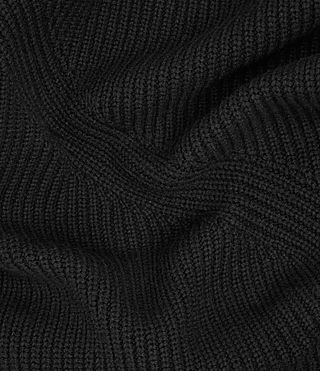 Men's Mavven Scarf (BITTER BLACK MARL) - product_image_alt_text_2