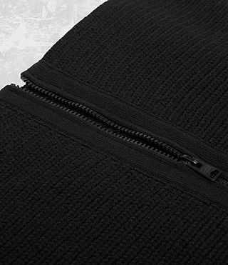 Men's Mavven Scarf (BITTER BLACK MARL) - product_image_alt_text_3