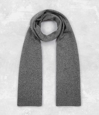 Hombre Klymore Hat and Scarf Gift Set (Grey Marl) - product_image_alt_text_3