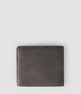 Mens Attain Leather Cardholder (Slate Grey) - product_image_alt_text_2