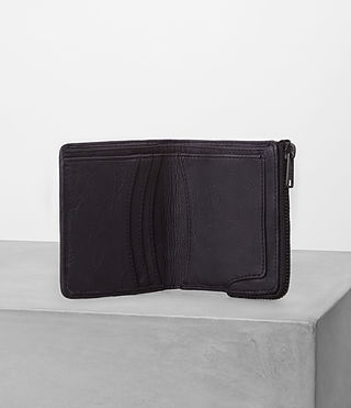 Mens Cleat Leather Wallet (Washed ink) - product_image_alt_text_3