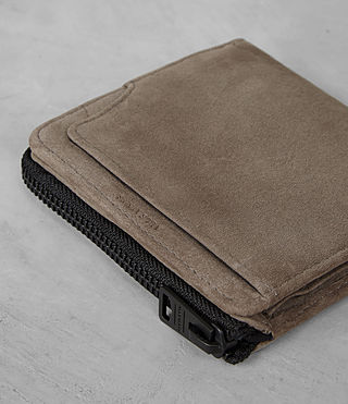 Mens Cleat Wallet (Washed Taupe) - product_image_alt_text_2