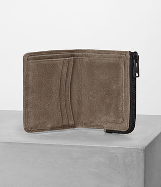 Mens Cleat Wallet (Washed Taupe) - product_image_alt_text_3