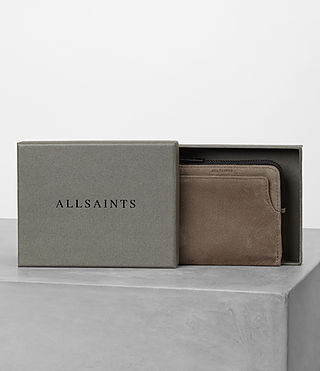 Mens Cleat Wallet (Washed Taupe) - product_image_alt_text_5