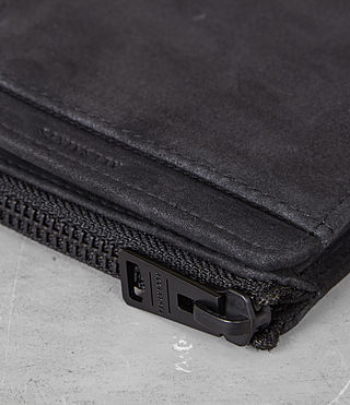 Mens Cleat Wallet (Washed Black) - Image 2