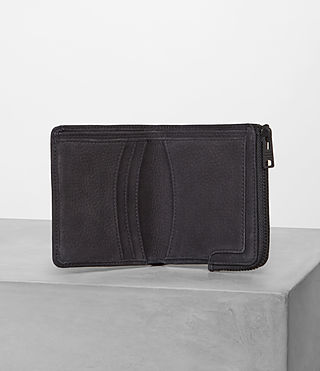 Mens Cleat Wallet (Washed Black) - Image 3