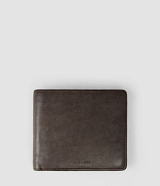 Herren Blyth Leather Wallet (Bitter Brown)