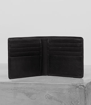 Men's Attain Cardholder (BLACK SUEDE TWEED) - product_image_alt_text_3