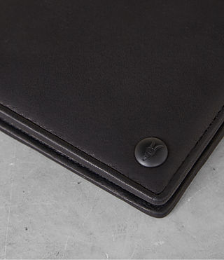 Mens Attain Cardholder (Black) - Image 2
