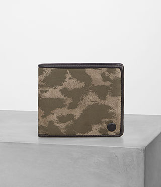 Mens Attain Cardholder (TAUPE MONTAULD) - Image 1