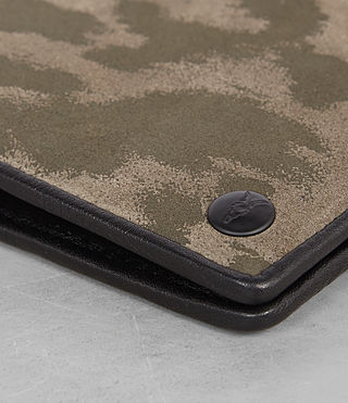 Mens Attain Cardholder (TAUPE MONTAULD) - Image 2
