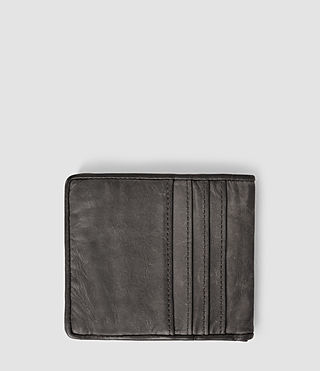 Men's Hawk Leather Wallet (Slate Grey) - product_image_alt_text_2