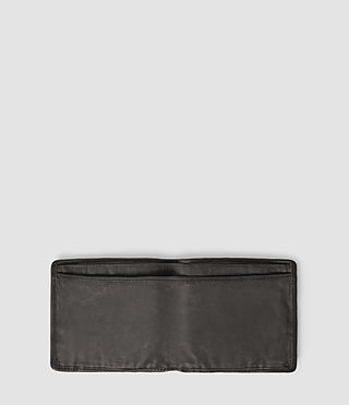 Men's Hawk Leather Wallet (Slate Grey) - product_image_alt_text_3