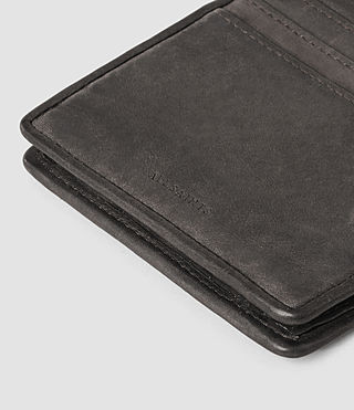 Herren Hawk Leather Wallet (Slate Grey) - product_image_alt_text_4