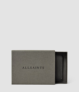 Men's Hawk Leather Wallet (Slate Grey) - product_image_alt_text_5