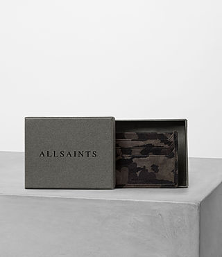 Mens Shard Leather Cardholder (FLOC CAMO) - product_image_alt_text_4