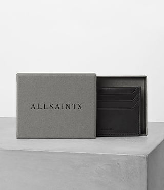 Hombres Shard Leather Cardholder (Black) - product_image_alt_text_4