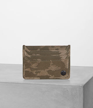 Mens Shard Cardholder (TAUPE MONTAULD) - Image 1