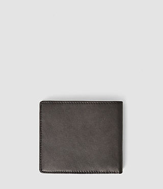 Mens Blyth Leather Wallet (Slate Grey) - product_image_alt_text_2