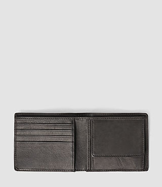 Mens Blyth Leather Wallet (Slate Grey) - product_image_alt_text_3
