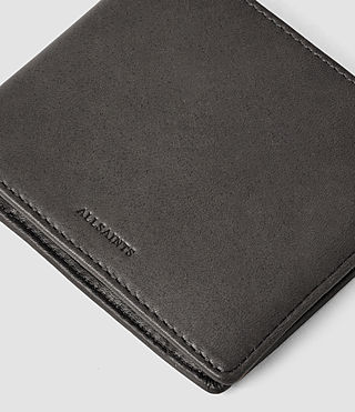 Mens Blyth Leather Wallet (Slate Grey) - product_image_alt_text_4
