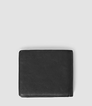 Mens Havoc Leather Wallet (Washed Black) - Image 2