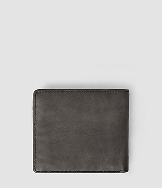 Hombres Havoc Leather Wallet (Slate Grey) - product_image_alt_text_2