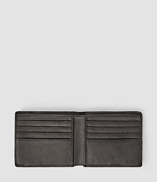 Hombres Havoc Leather Wallet (Slate Grey) - product_image_alt_text_3