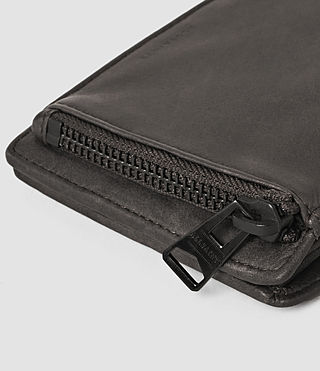 Hombres Havoc Leather Wallet (Slate Grey) - product_image_alt_text_4