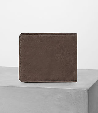 Mens Havoc Leather Wallet (Washed Taupe) - Image 4