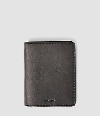 Mens Curfew Zip Wallet (Slate Grey)