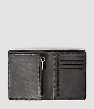 Hombres Curfew Zip Wallet (Slate Grey) - product_image_alt_text_3