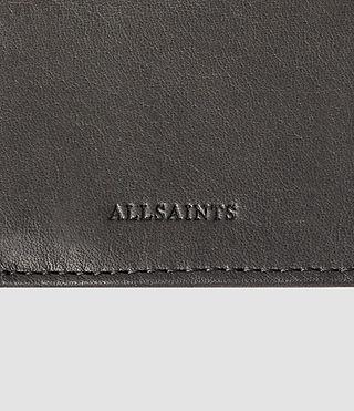 Hombres Curfew Zip Wallet (Slate Grey) - product_image_alt_text_4