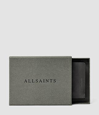Hombres Curfew Zip Wallet (Slate Grey) - product_image_alt_text_5
