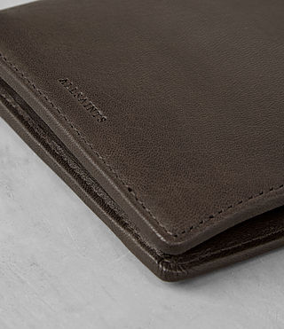 Men's Blyth Leather Wallet (Choc) - product_image_alt_text_2