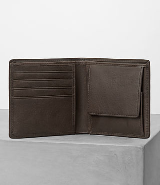 Men's Blyth Leather Wallet (Choc) - product_image_alt_text_3