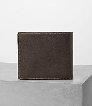 Men's Blyth Leather Wallet (Choc) - product_image_alt_text_4