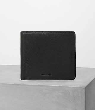 Hombre Blyth Leather Wallet (Black)