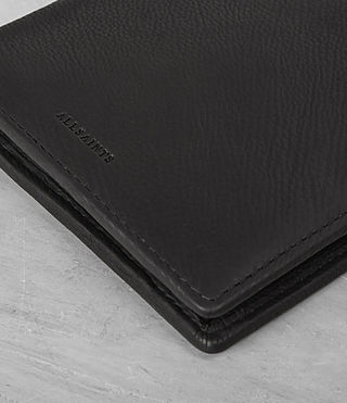 Mens Blyth Leather Wallet (Black) - product_image_alt_text_2