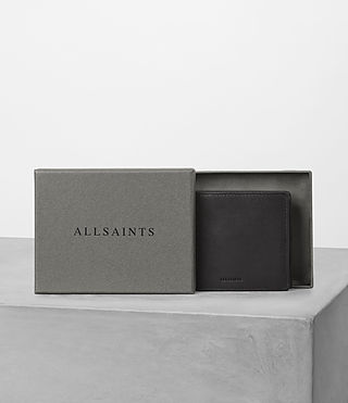 Mens Blyth Leather Wallet (Black) - product_image_alt_text_5