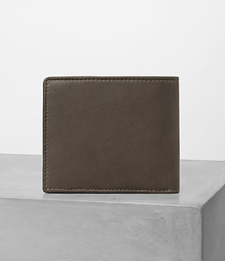Hombres Blyth Leather Wallet (Taupe) - product_image_alt_text_4