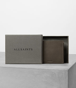 Mens Blyth Leather Wallet (Taupe) - product_image_alt_text_5
