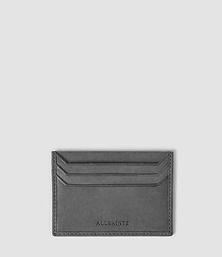 Mens Shard Cardholder (Charcoal)