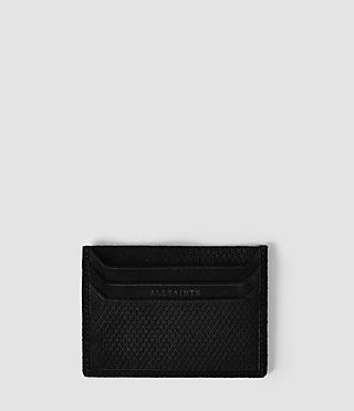 Mens Shard Cardholder (Black) - product_image_alt_text_1