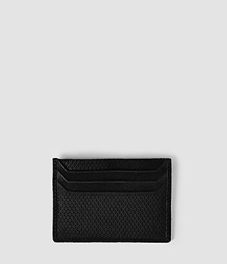Mens Shard Cardholder (Black) - product_image_alt_text_2
