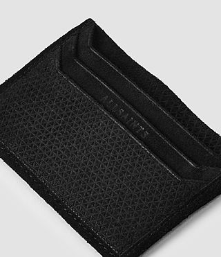 Mens Shard Cardholder (Black) - product_image_alt_text_3
