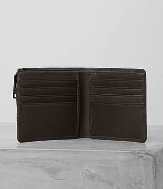 Mens Havoc Leather Wallet (Bitter Brown) - product_image_alt_text_2