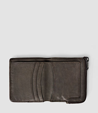Hombres Cleat Leather Wallet (Bitter Brown) - product_image_alt_text_3