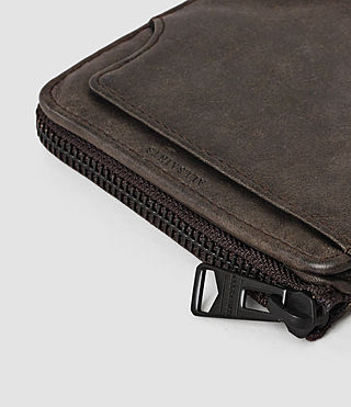 Hombres Cleat Leather Wallet (Bitter Brown) - product_image_alt_text_4