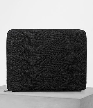 Herren Monument Suede Case (Black Suede) -